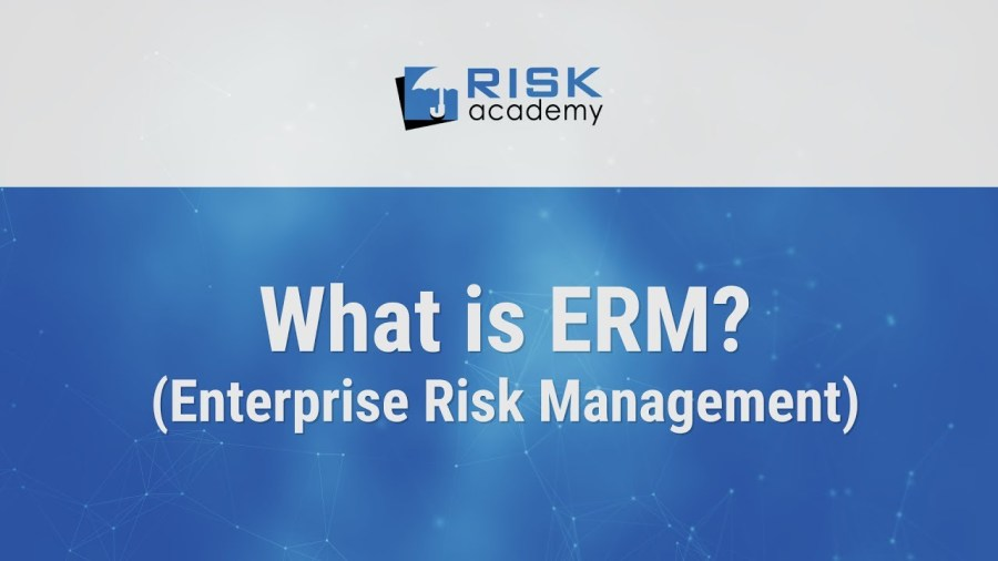 67. What is Enterprise Risk Management (ERM)?
