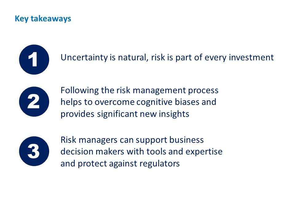 TRAINING: Risk management for pharmaceutical companies