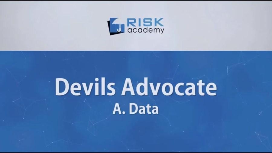 84. Devils advocate – Data (part a) – Alex Sidorenko