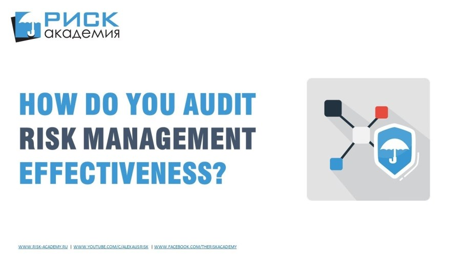 55. 3 things to look for when auditing risk management – Alex Sidorenko