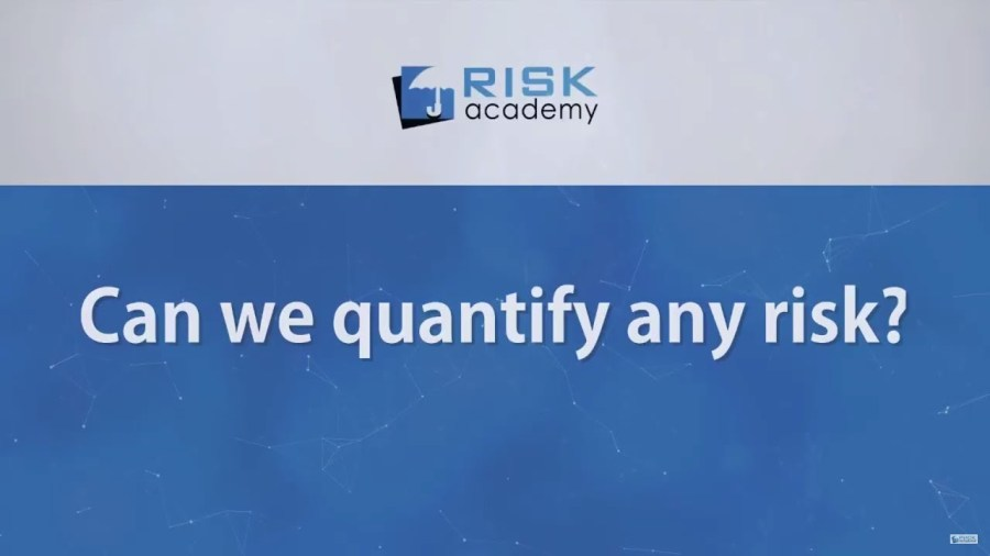 94. Can we quantify any risk?
