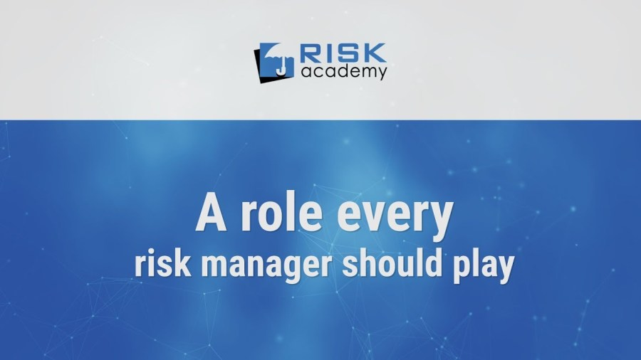 78. Which role should the risk manager play? – Alex Sidorenko