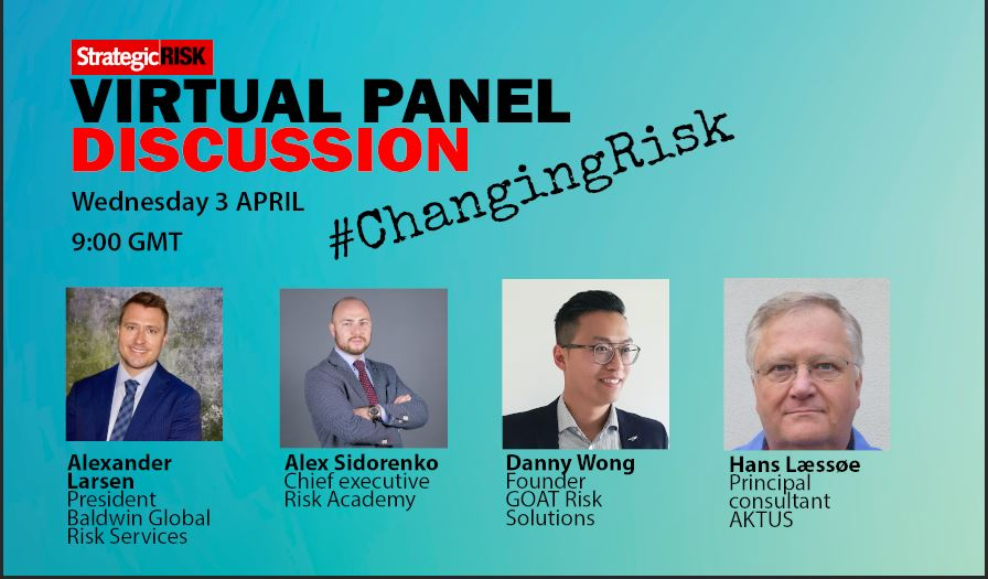 StrategicRISK virtual panel – starts now