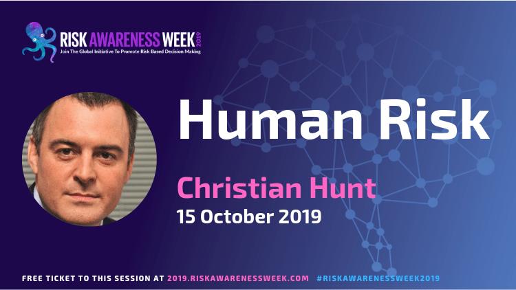 Human Risk #riskawarenessweek2019