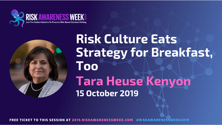 Risk Culture Eats Strategy for Breakfast, Too #riskawarenessweek2019
