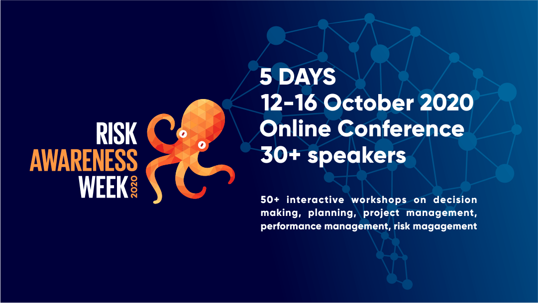 Call for speakers. Share your risk management or decision making stories with the world