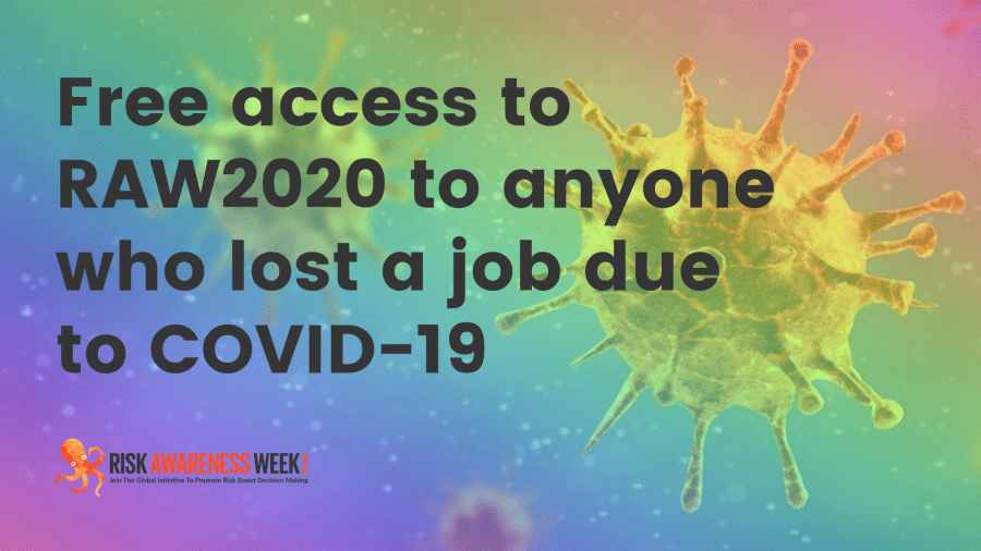 Free access to RAW2020 to anyone who lost a job due to COVID-19
