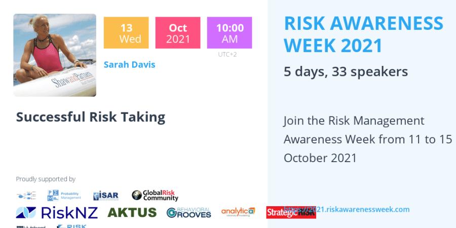 RAW2021 – Successful Risk Taking