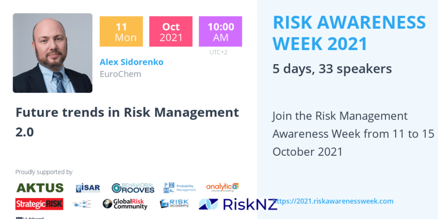 RAW2021 – Future trends in Risk Management 2.0