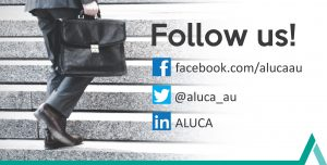 ALUCA Follow us
