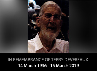In remembrance of Terry Devereaux