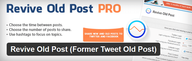 Revive Old Post PRO - Social Media Automation Plugin