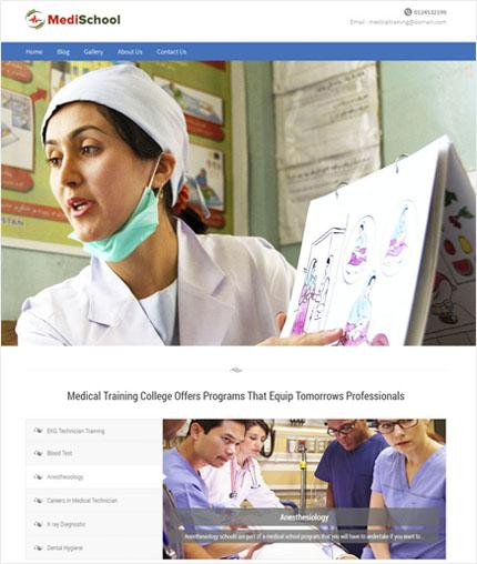 MediSchool wp theme