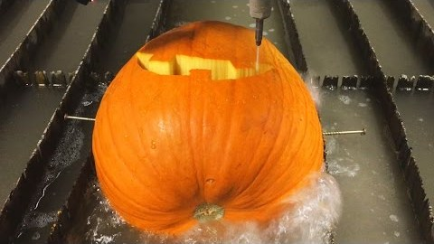 How To Carve A Pumpkin In Under 30 Seconds