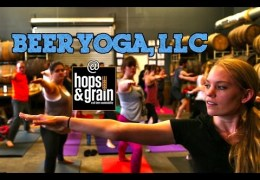 Beer + Yoga – Finally!