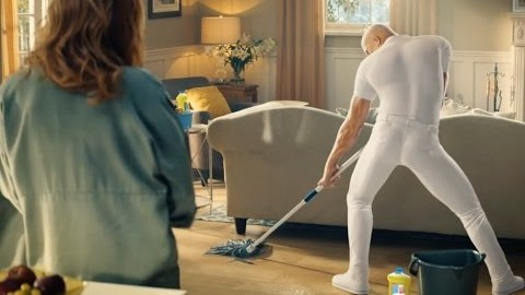 This Sexy Mr. Clean Can Do It All (Super Bowl Ad)