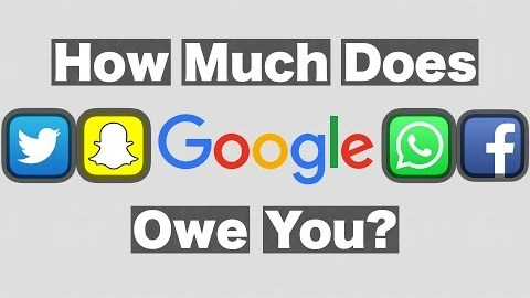 How Much Does Google Owe You?