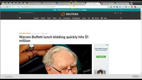 Eating Lunch With Warren Buffett