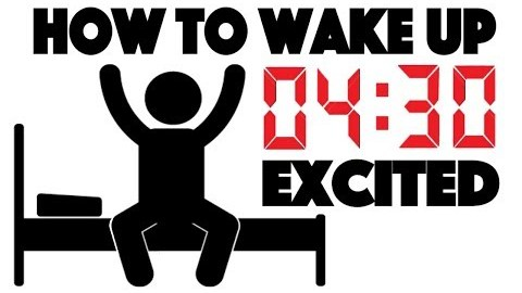 4 Simple Steps to Wake Up Early
