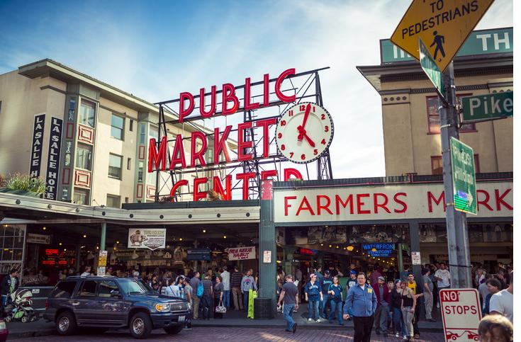 Pike Place - Public Market in Seattle