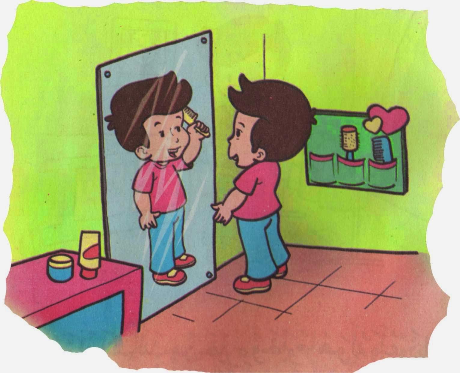 Gambar Cermin Datar