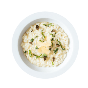 Piatto di risotto