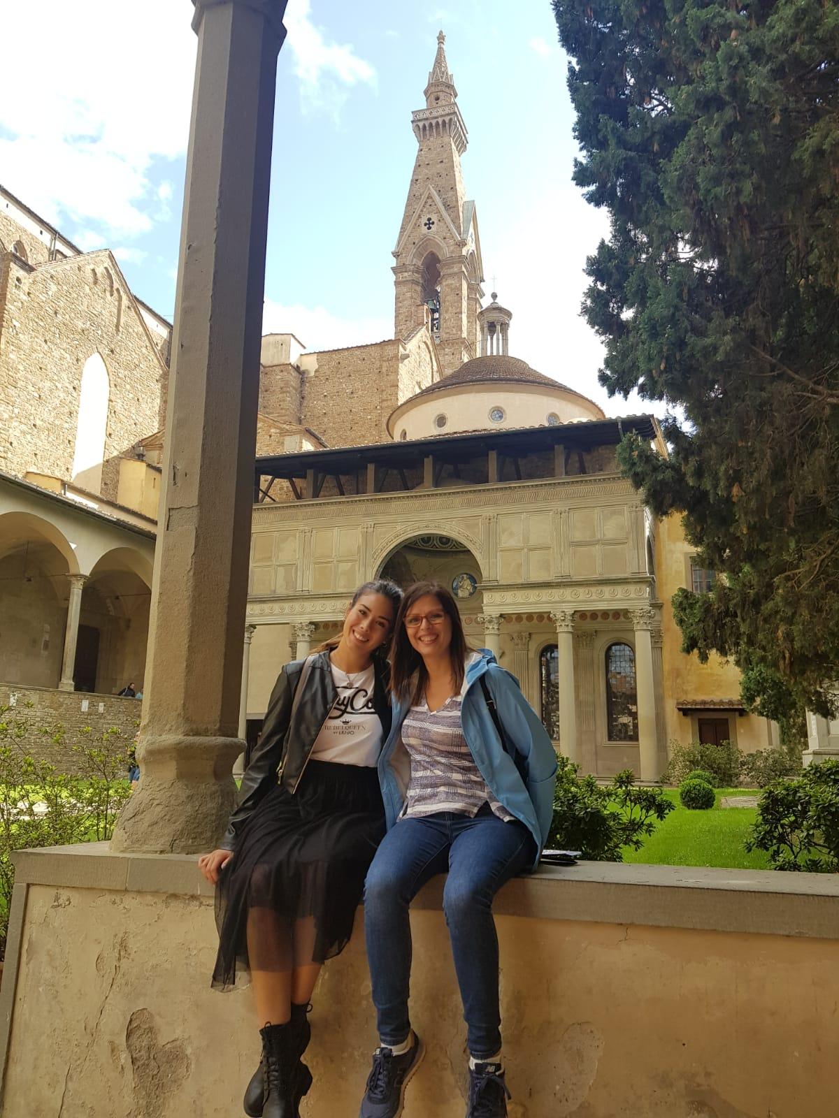 Firenze una meravigliosa esperienza di due giorni. Chiostro Santa Croce