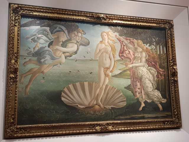 Firenze una meravigliosa esperienza di due giorni. Venere di Botticelli