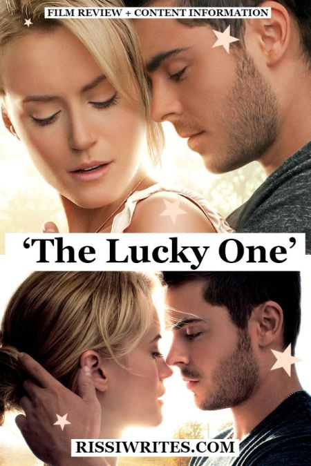 """'The Lucky One' - A Romantic Drama and a Soldier's """"Lucky"""" Charm. A review of The Lucky One (2012) with Zac Efron and Taylor Schilling. Text © Rissi JC"""