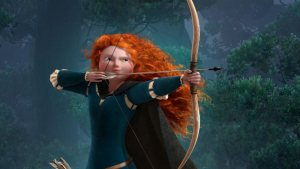 'Brave' – Entertaining Disney-Pixar Film about a Red-Headed Heroine. A review of the Disney film Brave (2012). Features Emma Thompson. Text © Rissi JC