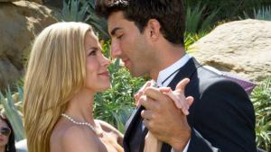 'UNDERCOVER BRIDESMAID' (2012). Brooke Burns stars with Gregory Harrison in this Hallmark rom-com. All text is © Rissi JC