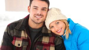 LET IT SNOW (2013). Candace Cameron Bure co-stars with Jesse Hutch in this Hallmark rom-com. All text © Rissi JC