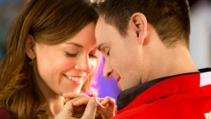 A Ring by Spring (2014). Rachel Boston stars in this Hallmark romantic comedy. All text is © Rissi JC and RissiWrites.com