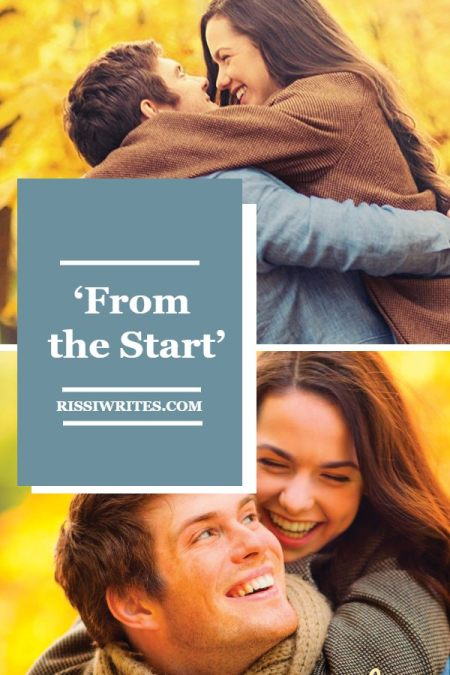 'From the Start': The Football Star and Romance Writer. A review of Melissa Tagg's 2013 rom-com. All text © Rissi JC