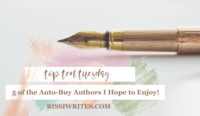 Top Ten Tuesday July 16