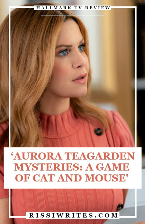 aurora teagarden: a game of cat and mouse pinterest