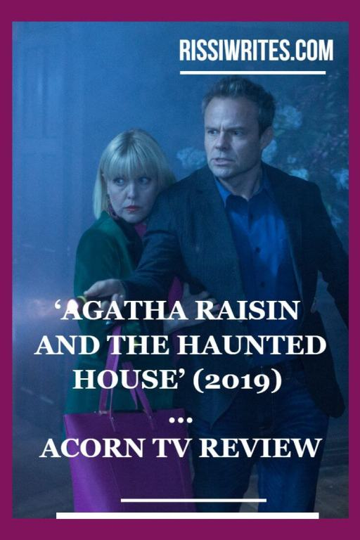'Agatha Raisin and the Haunted House' is the Fun New Adventure! Review of the Acorn mystery with Ashley Jensen. Text © Rissi JC
