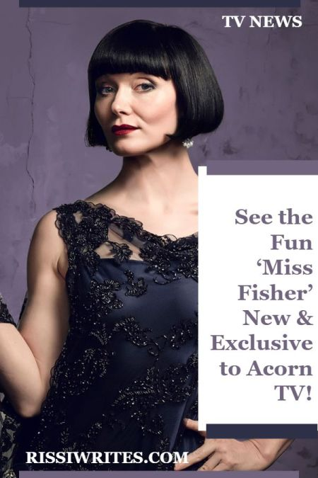 See the Fun 'Miss Fisher' New & Exclusive to Acorn TV! Now exclusive to a new streaming home is Miss Fisher on ACORN TV; seasons 1-3. Who's excited?
