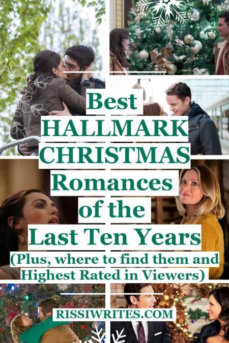 Best Hallmark Christmas Romances of the Last Ten Years. Talking about the best of Hallmark Christmas romance from the past decade. © Rissi JC