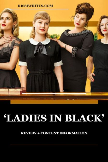 'Ladies in Black': A Surprising but Really Good Adaptation. Film review of the 2018 period drama adaptation with Julia Ormond. Text © Rissi JC