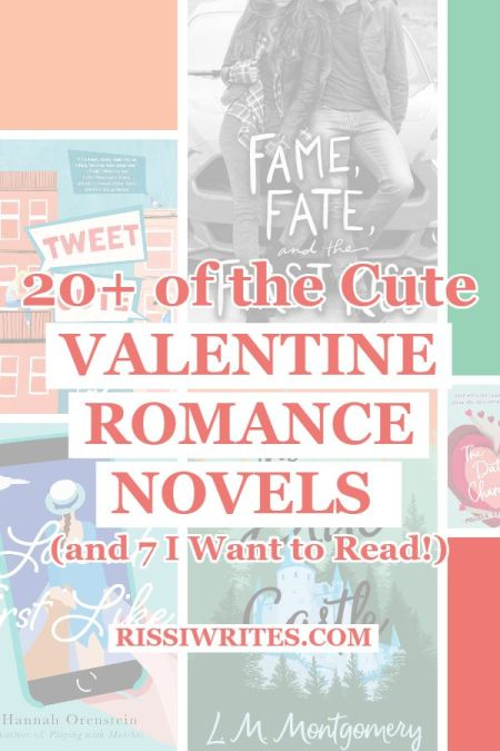20+ of the Cute Valentine Romance Novels (and 7 I Want to Read!). Sharing a list of Valentine romance reads; what's your favorite? Text © Rissi JC
