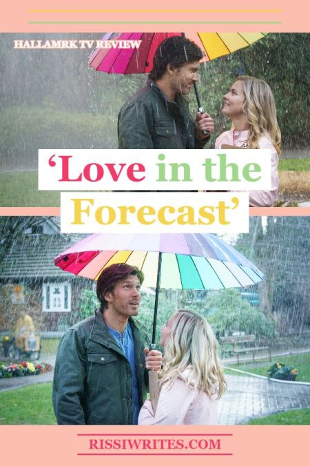 'Love in the Forecast': Find Unexpected Romance. A review of the Cindy Busby and Christopher Russell TV romance. All text © Rissi JC