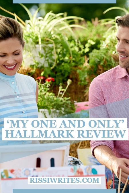 'My One and Only': A Sweet Romance on the Ranch. A review of the Hallmark romance with Pascale Hutton and Sam Page. Text © Rissi JC