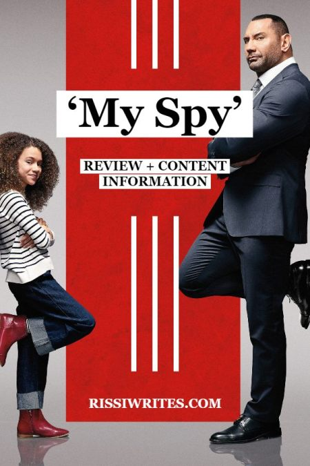 'My Spy' is the Fun and Exciting Amazon Original. A review of the new Amazon Prime original with Dave Bautista. All text © Rissi JC