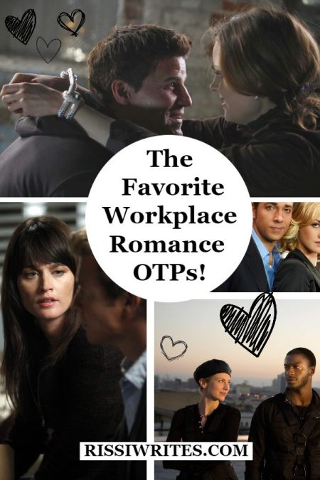 The Favorite Workplace Romance OTPs! Sharing a list of favorite workplace romance couples (and just fan-girling in general); who are yours? Text © Rissi JC
