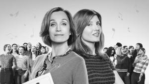 'Military Wives': A Slow But Charming Dramedy. Review of the 2019 film with Kristin Scott Thomas and Greg Wise. Text © Rissi JC