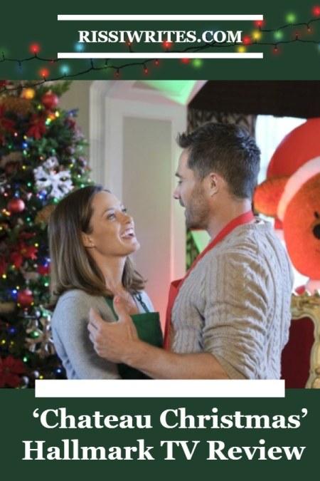 'Chateau Christmas': See the Start of the Hallmark Christmas Romance. Stars Merritt Patterson and Luke Macfarlane. All text © Rissi JC