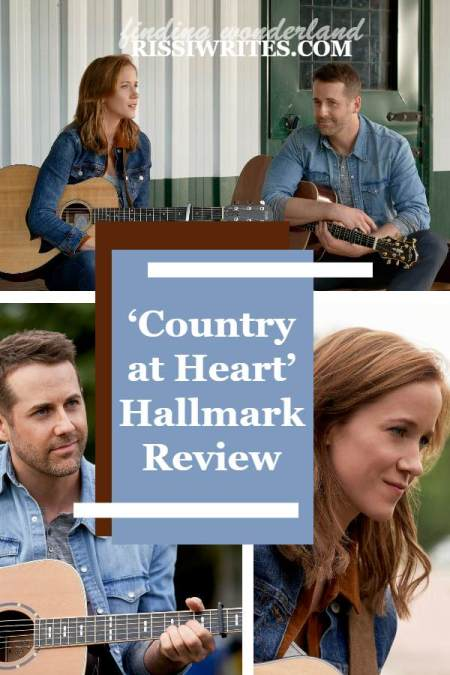 'Country at Heart' is Worth the Wait. A review of the 2019 filmed and 2020 aired Hallmark romance with Niall Matter. Text © Rissi JC