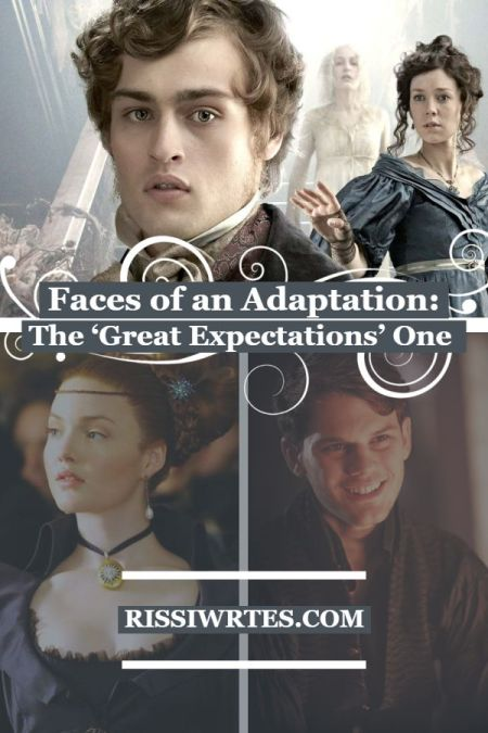Faces of an Adaptation: The 'Great Expectations' One. Talking about three of the Great Expectations adaptation versions. Text © Rissi JC