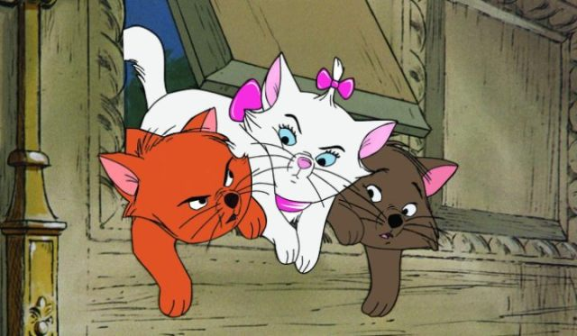 Revisiting a Nostalgic Favorite: Disney's 'The Aristocats.' Have you seen this underrated (??) Disney film? Eva Gabor voices Duchess in this one! © Rissi JC